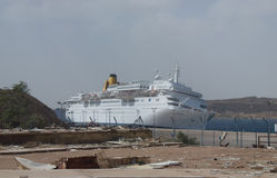 The Costa Europa cruise liner Stock Images