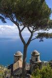 Costa famosa de Amalfi imágenes de archivo libres de regalías