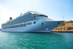 The Costa Fascinosa cruise ship Stock Image