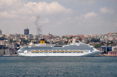 Costa Fascinosa in Istanbul Stock Images