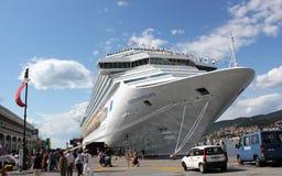 Costa Favolosa della nave da crociera Fotografie Stock