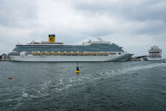 Costa Fortuna at berth Warnemunde Royalty Free Stock Image