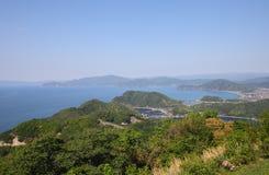Costa costa Fukui Japón del mar de Japón Imagen de archivo libre de regalías