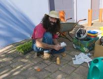 Costa Georgiadis Gardening Australia Lizenzfreie Stockbilder