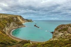 Costa giurassica di Dorset Fotografia Stock