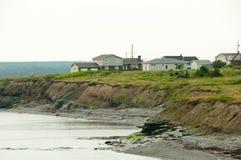 Costa Glace de la bahía - Nova Scotia - Canadá imagen de archivo