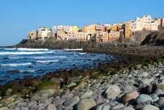 Costa, Gran Canaria, Isole Canarie Fotografia Stock Libera da Diritti