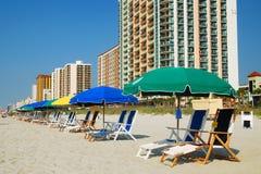 Costa grande, SC de Myrtle Beach foto de stock