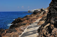 Costa grega Fotografia de Stock