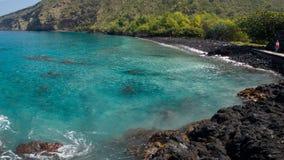 Costa hawaiana imagen de archivo libre de regalías