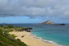 Costa hawaiana Foto de archivo