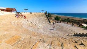 Costa costa hermosa de Chipre, mar Mediterráneo del color de la turquesa fotografía de archivo libre de regalías
