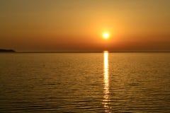 Costa hermosa del mar de Azov Imágenes de archivo libres de regalías