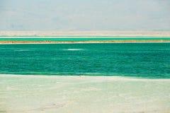 Costa hermosa del mar muerto imagen de archivo