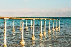 Costa hermosa del mar muerto imágenes de archivo libres de regalías