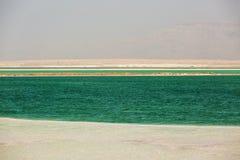 Costa hermosa del mar muerto fotos de archivo libres de regalías