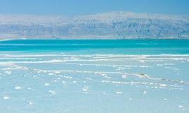 Costa hermosa del mar muerto foto de archivo libre de regalías