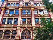 Costa histórica Arcade Building, Sydney CBD, Austrália imagens de stock