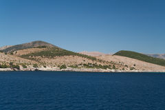 Costa Ionian Imagem de Stock Royalty Free