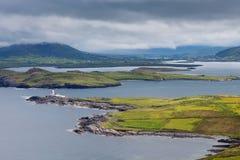 Costa irlandesa Fotografia de Stock Royalty Free