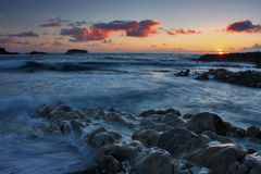 Costa irlandesa Fotografia de Stock