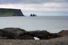 Costa islandêsa Fotografia de Stock Royalty Free