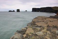 Costa islandêsa Imagens de Stock Royalty Free