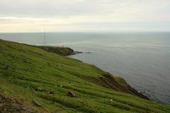 Costa islandêsa Imagens de Stock