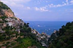 Costa italiana Fotografía de archivo libre de regalías