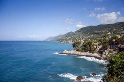 Costa italiana Fotografía de archivo