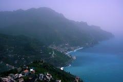 Costa italiana foto de stock royalty free