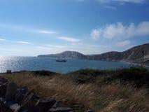 Costa jurássico de Dorset foto de stock