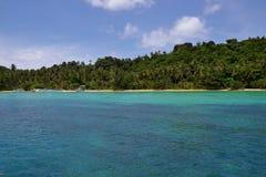 Costa K de la isla fotografía de archivo