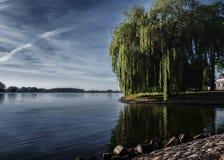 Costa Kampen, río IJssel Foto de archivo libre de regalías