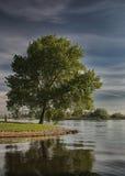 Costa Kampen, río IJssel Fotos de archivo libres de regalías