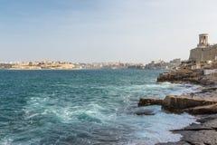 Costa, La Valletta, Malta Immagine Stock
