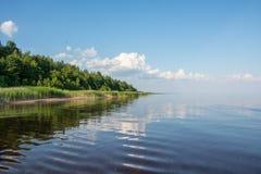 Costa, lato della spiaggia Immagini Stock Libere da Diritti