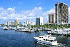 Costa leste de Miami, Florida Foto de Stock Royalty Free