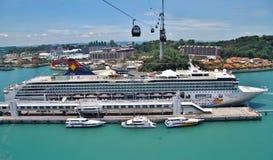 Costa Luminosa del barco de cruceros Fotos de archivo libres de regalías