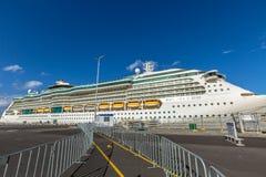 Costa Luminosa del barco de cruceros imagen de archivo libre de regalías