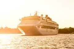 Costa Luminosa del barco de cruceros imágenes de archivo libres de regalías