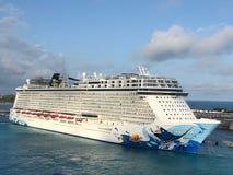 Costa Luminosa del barco de cruceros foto de archivo libre de regalías