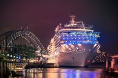 Costa Luminosa kryssningskepp Royaltyfri Fotografi