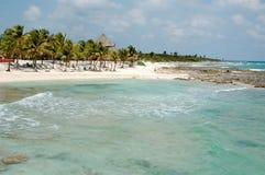 costa majowie Mexico zdjęcie stock