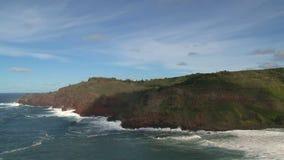 Costa Maui, Hawai stock footage