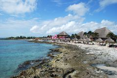 Costa Maya Beach Royalty Free Stock Photo