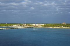 Costa Maya coast, Mexico, Caribbean Royalty Free Stock Photos