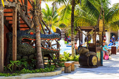 Costa Maya - Mexico Arkivbild