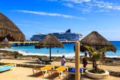 Costa Maya -  Mexico Royalty Free Stock Photo