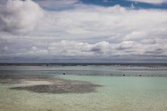Costa Maya Mexico, mening op het schoonheidsstrand stock fotografie